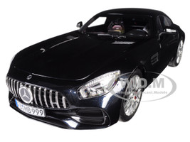 2018 Mercedes AMG GT S Metallic Black 1/18 Diecast Model Car Norev 183497