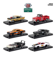 Drivers 6 Cars Set Release 54 Blister Packs 1/64 Diecast Model Cars M2 Machines 11228-54