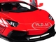 Lamborghini Aventador LB-Works Red Black Wheels 1/18 Model Car Autoart 79108