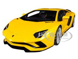 Lamborghini Aventador S New Giallo Orion Pearl Yellow 1/18 Model Car Autoart 79132
