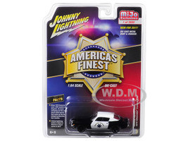 1970 Chevrolet Camaro Z28 California Highway Patrol CHP Black White America's Finest Limited Edition 3600 pieces Worldwide 1/64 Diecast Model Car Johnny Lightning JLCP7025