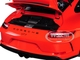 2017 Porsche 911 GT3 Orange Silver Wheels Limited Edition 666 pieces Worldwide 1/18 Diecast Model Car Minichamps 110067022