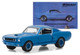 1966 Ford Mustang Shelby GT350 Blue The Best Dreams Are Partly Black  White BFGoodrich Vintage Ad Cars Hobby Exclusive 1/64 Diecast Model Car Greenlight 29975