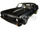 1969 Chevrolet Nova Blackout 1320 Kings Satin Black Limited Edition 570 pieces Worldwide 1/18 Diecast Model Car GMP 18915