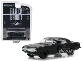 1969 Chevrolet Camaro Z/28 Black Bandit Trans Am Racing Team Black Bandit Series 20 1/64 Diecast Model Car Greenlight 27960 B