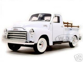 1950 GMC Pickup White 1/18 Diecast Model Road Signature 92648
