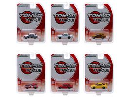 Tokyo Torque Series 4 Set 6 Cars 1/64 Diecast Models Greenlight 47020
