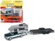 Truck and Trailer Series 3 Set B 3 Cars 1/64 Diecast Model Cars Johnny Lightning JLBT008 B