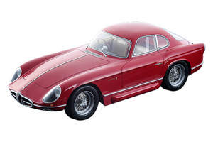 1954 Alfa Romeo 2000 Sportiva Bertone Rosso Alfa Red Mythos Series Limited Edition 150 pieces Worldwide 1/18 Model Car Tecnomodel TM18-140 A