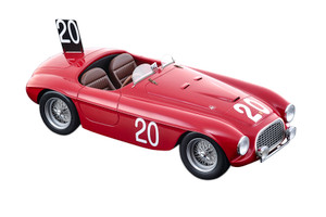 Ferrari 166MM #20 Luigi Chinetti Jean Lucas Winners Spa 24 Hours 1949 Limited Edition 90 pieces Worldwide Mythos Series 1/18 Model Car Tecnomodel TM18-52 C
