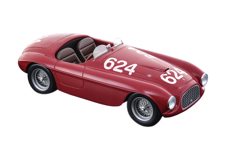 Ferrari 166MM #624 Clemente Biondetti Ettore Salani Winners Mille Miglia 1949 Limited Edition 90 pieces Worldwide Mythos Series 1/18 Model Car Tecnomodel TM18-52 D