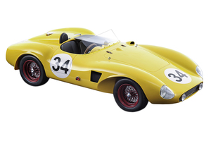 Ferrari 625LM #34 Robert Publicker 1956 Nassau Limited Edition 80 pieces Worldwide Mythos Series 1/18 Model Car Tecnomodel TM18-54 C