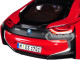 BMW i8 Protonic Red Black Top 1/18 Diecast Model Car Paragon 97085