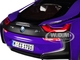 BMW i8 Purple Black Top 1/18 Diecast Model Car Paragon 97088