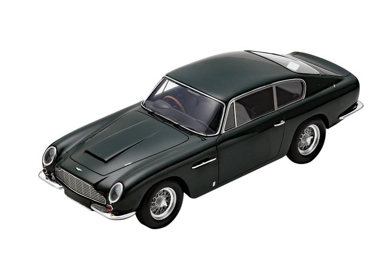 Aston Martin DB6 RHD Right Hand Drive Dark Green 1/18 Model Car Spark 18S313