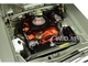 1970 Plymouth GTX Metallic Silver Black Vinyl Top Black Stripes Limited Edition 504 pieces Worldwide 1/18 Diecast Model Car GMP 18895