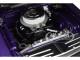 1970 Dodge Challenger Trans Am Street Version Plum Crazy Purple Black Hood Black Stripes Limited Edition 480 pieces Worldwide 1/18 Diecast Model Car ACME A1806010