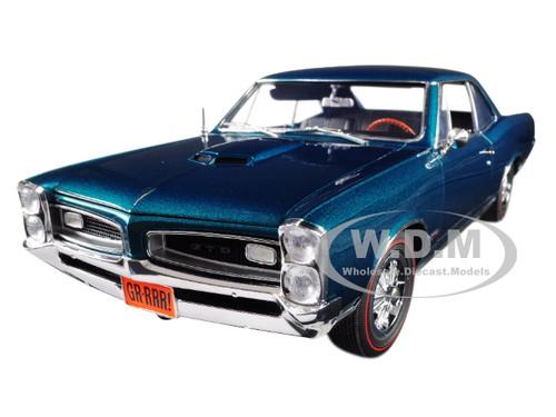 1966 Pontiac GTO Marina Turquoise Limited Edition 402 pieces Worldwide 1/18 Diecast Model Car ACME A1801212