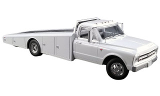 1967 Chevrolet C-30 Ramp Truck White Limited Edition 996 pieces Worldwide 1/18 Model ACME A1801700