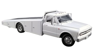 1967 Chevrolet C-30 Ramp Truck White Limited Edition 996 pieces Worldwide 1/18 Diecast Model ACME A1801700