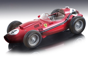 Ferrari Dino 246 #4 Mike Hawthorn Winner Formula 1 F1 France GP Grand Prix 1958 After the Race Version Mythos Series Limited Edition 200 pieces Worldwide 1/18 Model Car Tecnomodel TM18-153 A