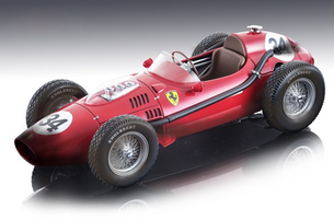 Ferrari Dino 246 #34 Luigi Musso 2nd Place Formula 1 F1 Monaco GP Grand Prix 1958 After the Race Version Mythos Series Limited Edition 65 pieces Worldwide 1/18 Model Car Tecnomodel TM18-153 B