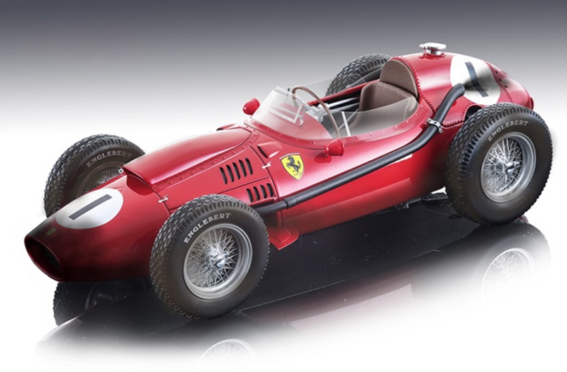 Ferrari Dino 246 #1 Peter Collins Winner Formula 1 F1 England GP Grand Prix 1958 After the Race Version Mythos Series Limited Edition 90 pieces Worldwide 1/18 Model Car Tecnomodel TM18-153 C