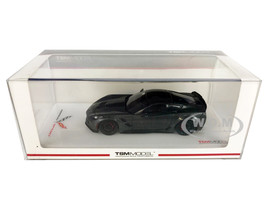 Chevrolet Corvette Grand Sport Dark Silver 1/43 Model Car True Scale Miniatures TSM 430229