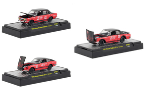 Japan Release Coca Cola Set 3 Cars Limited Edition 9600 pieces Worldwide Hobby Exclusive 1/64 Diecast Models M2 Machines 52500-JPN01