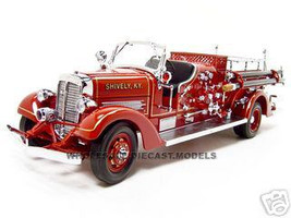 Fire Engine Diecast Model Cars 1/18 1/24 1/12 1/43