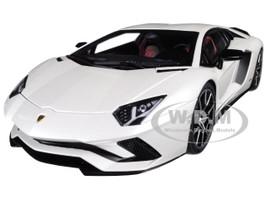 Lamborghini Aventador S Baloon White Pearl White 1/18 Model Car Autoart 79131