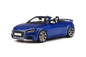 Audi TT RS Roadster Sepang Blue Limited Edition 500 pieces Worldwide 1/18 Model Car GT Spirit GT209