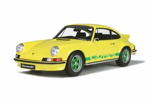 Porsche 911 Carrera 2.7 RS Touring Light Yellow Limited Edition 999 pieces Worldwide 1/12 Model Car GT Spirit GT733