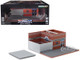 Hot Pursuit Central Command City Chicago Police Department CPD Mechanic's Corner Series 4 Diorama 1/64 Scale Models Greenlight 57041