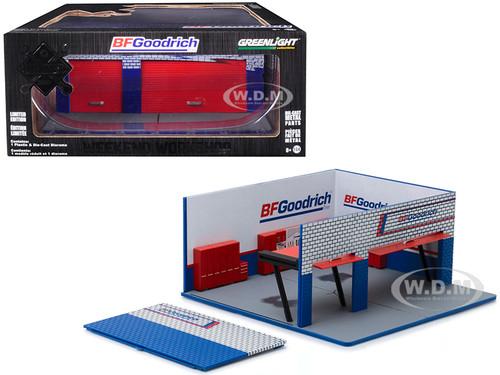 Weekend Workshop BFGoodrich Mechanic's Corner Series 4 Diorama 1/64 Scale Models Greenlight 57043