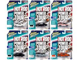 Muscle Cars USA 2018 Release 5 Set A 6 Cars 1/64 Diecast Models Johnny Lightning JLMC017 A