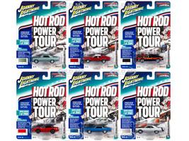 Muscle Cars USA 2018 Release 5 Set B 6 Cars 1/64 Diecast Models Johnny Lightning JLMC017 B