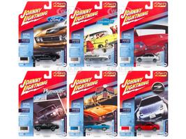 Classic Gold 2018 Release 4 Set B 6 Cars 1/64 Diecast Models Johnny Lightning JLCG016 B