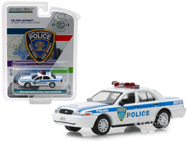 2003 Ford Crown Victoria Police Interceptor Port Authority New York New Jersey Police Hobby Exclusive 1/64 Diecast Model Car Greenlight 30010