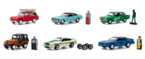 The Hobby Shop Series 5 Set 6 Cars 1/64 Diecast Models Greenlight 97050