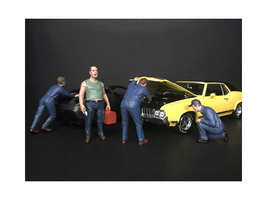 Mechanic Classic 4 Piece Figurine Set 1/18 Scale Models American Diorama 38177 38178 38179 38180