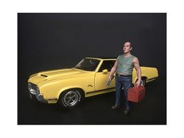 Mechanic Sam Tool Box Figurine 1/24 Scale Models American Diorama 38280