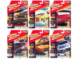 Classic Gold 2018 Release 4 Set A 6 Cars 1/64 Diecast Models Johnny Lightning JLCG016 A