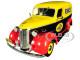 1939 Chevrolet Panel Truck Pennzoil Yellow Black Red Running on Empty Series 1/24 Diecast Model Car Greenlight 85021