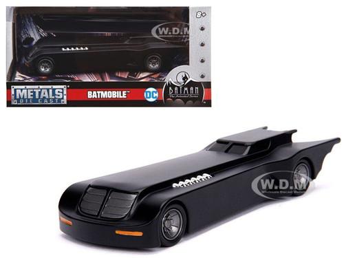 Batmobile The Animated Series DC Comics Series Diecast Model Car Jada 30915