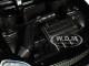 1997 Honda Civic Type R Glossy Black Carbon Hood JDM Tuners 1/24 Diecast Model Car Jada 30719