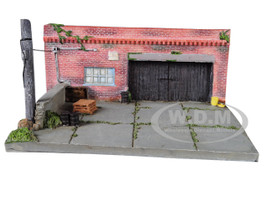 My Old Garage Resin Diorama 1/64 Scale Models American Diorama 38430