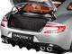 2017 Aston Martin Vanquish S Lightning Silver Carbon Top 1/18 Model Car Autoart 70272