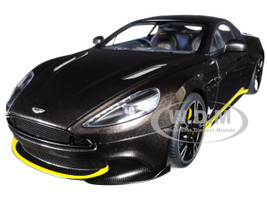 2017 Aston Martin Vanquish S Kopi Bronze Carbon Top 1/18 Model Car Autoart 70273