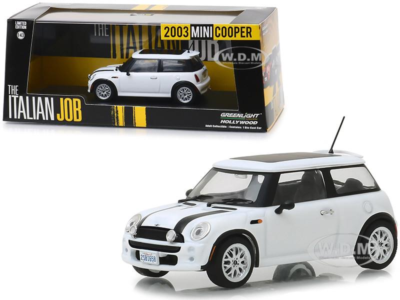 "MINI COOPER 3 PC SET /""THE ITALIAN JOB/"" 2003 1//43 CARS GREENLIGHT 86546,47,48"